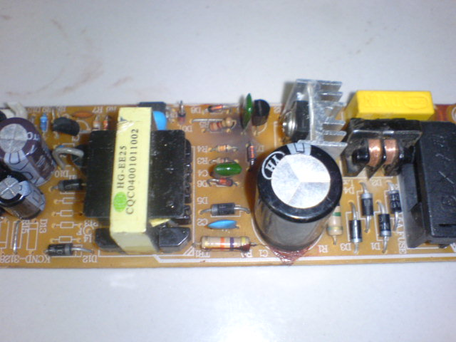 Model Power Supply DVD