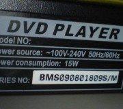 Model DVD Player Polytron