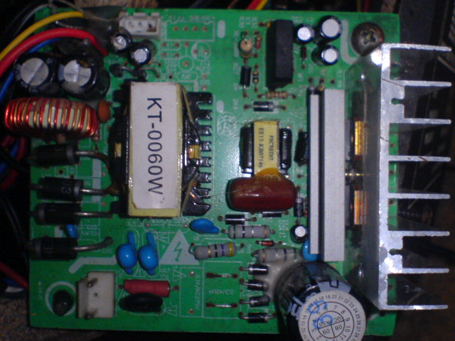 Rangkaian power supply eletrik