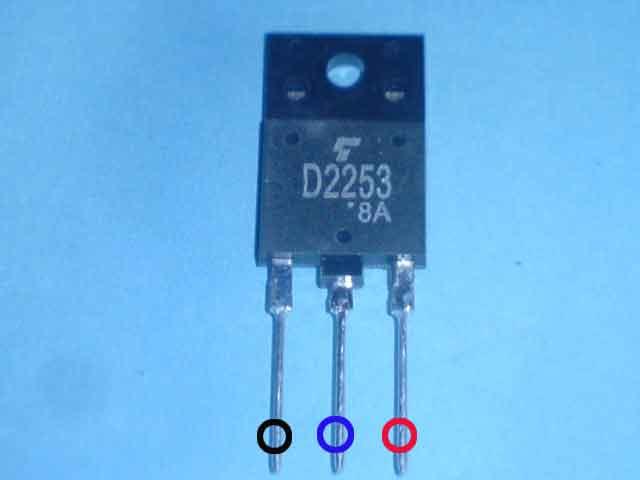 Transistor horizontal televisi