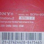 model PlayStation 2