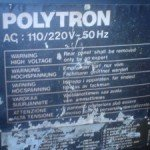 Model televisi polytron