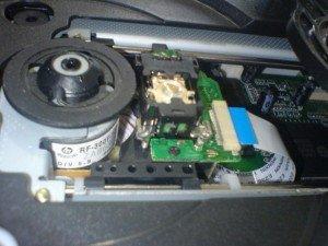Mekanik Optik DVD Player Tori