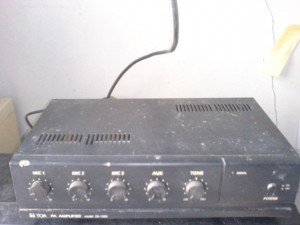 Amplifier Toa ZA 1025