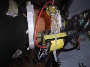 Yoke 1422 beserta Trafo maching Wansonic untuk Televisi Sharp