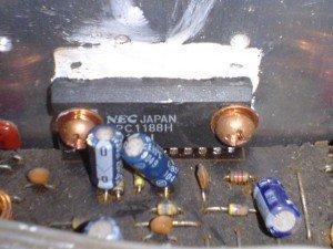 IC Upc 1188 Amplifier Pioner