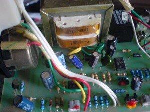 Rangkaian automatis thermometer controller