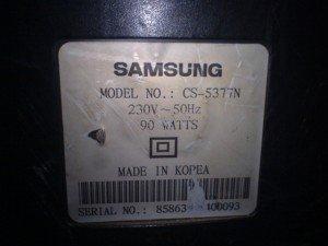 Model televisi Samsung