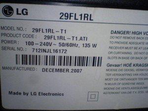 Televisi LG 29FL1RL