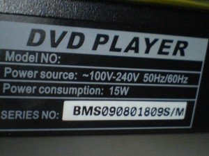 Model DVD Player Polytron
