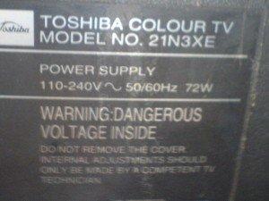 Televisi Toshiba 21N3XE