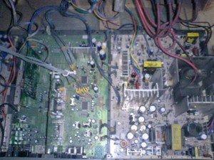 Mainboard televisi LG
