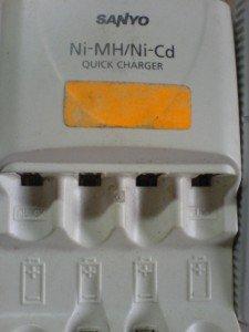 Charger Sanyo NC-MQR02N