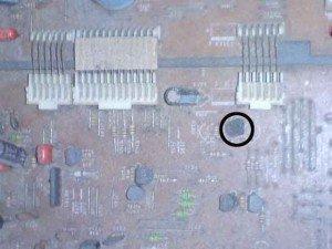 transistor mute mainboard televisi sanyo