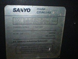 Televisi Sanyo C25AG54U