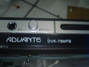 DVD Player Advante DVK78PB