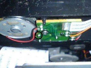 Sensor switch open mekanik mini home theater LG