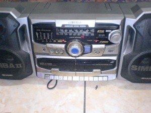 Tape Compo Sharp WF1100L(S)