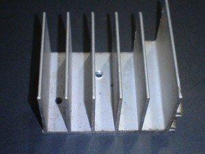 alumunium pendingin amplifier