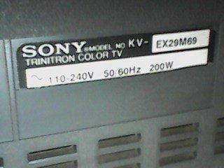 model televisi Sony