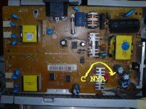 Power Supply Monitor LCD LG