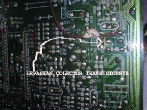 Mainboard Televisi Toshiba Bomba