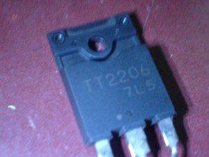Transistor Horizontal type TT2206