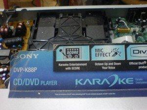 Gbr 1 Model DVD Player SONY