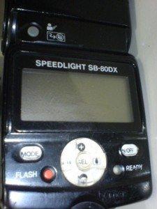 Nikon SB-80 DX