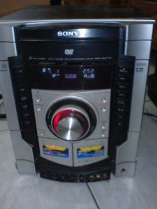 model dvd deck receiver SONY