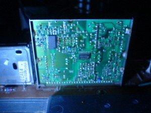 Modul IF televisi Toshiba bomba