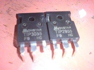 transistor penguat bawaan kits