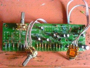 model tone control 4 transistor