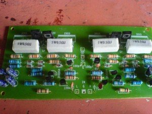 Kits amplifier ocl