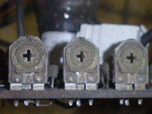 Trimpot card video RGB