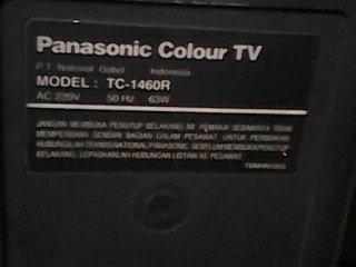 model televisi panasonic