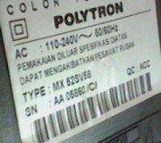 model tv polytron mx52sb58