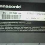 model tv panasonic tc21z88ja