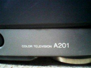 model tv aiwa A201