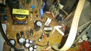 Resistor-mainboard-tv-polyt