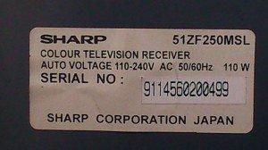 model-tv-sharp-51zf250msl