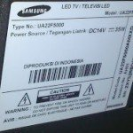 model led samsung