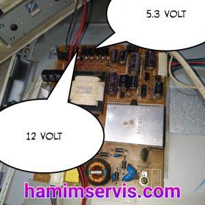 power supply Televisi LED Polytron PLD-24T305W