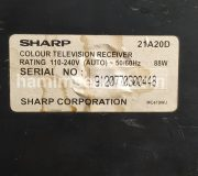 model TV SHARP 21A20D