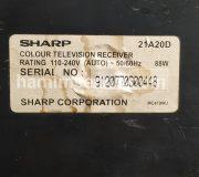model TV SHARP 21A20D